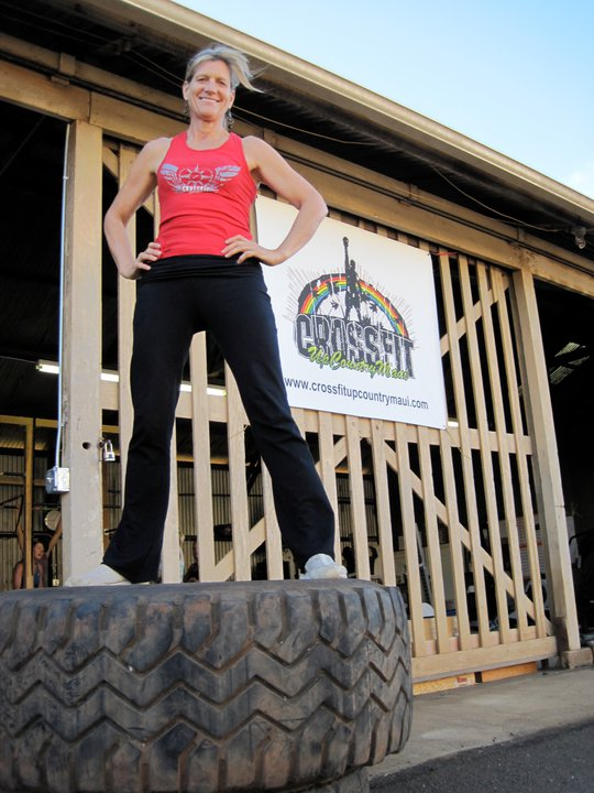 Kaye Whitney, Founder of CrossFit Upcountry Maui